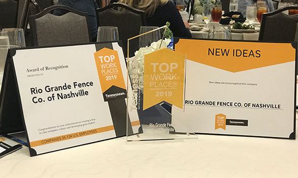 RGF Wins #2 Top Workplaces 2019 in Small Company Category and #1 Overall for New Ideas