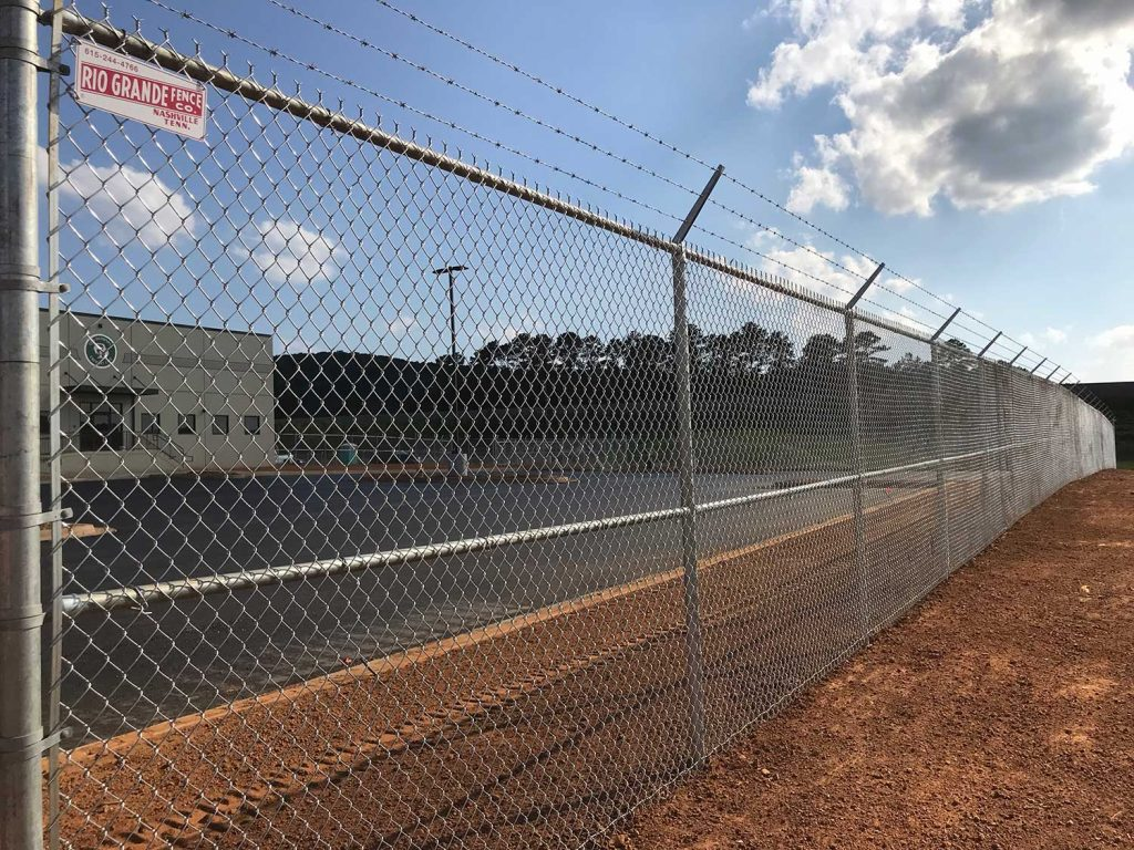 RGF Completes Commercial Fence Installation in Cartersville, GA