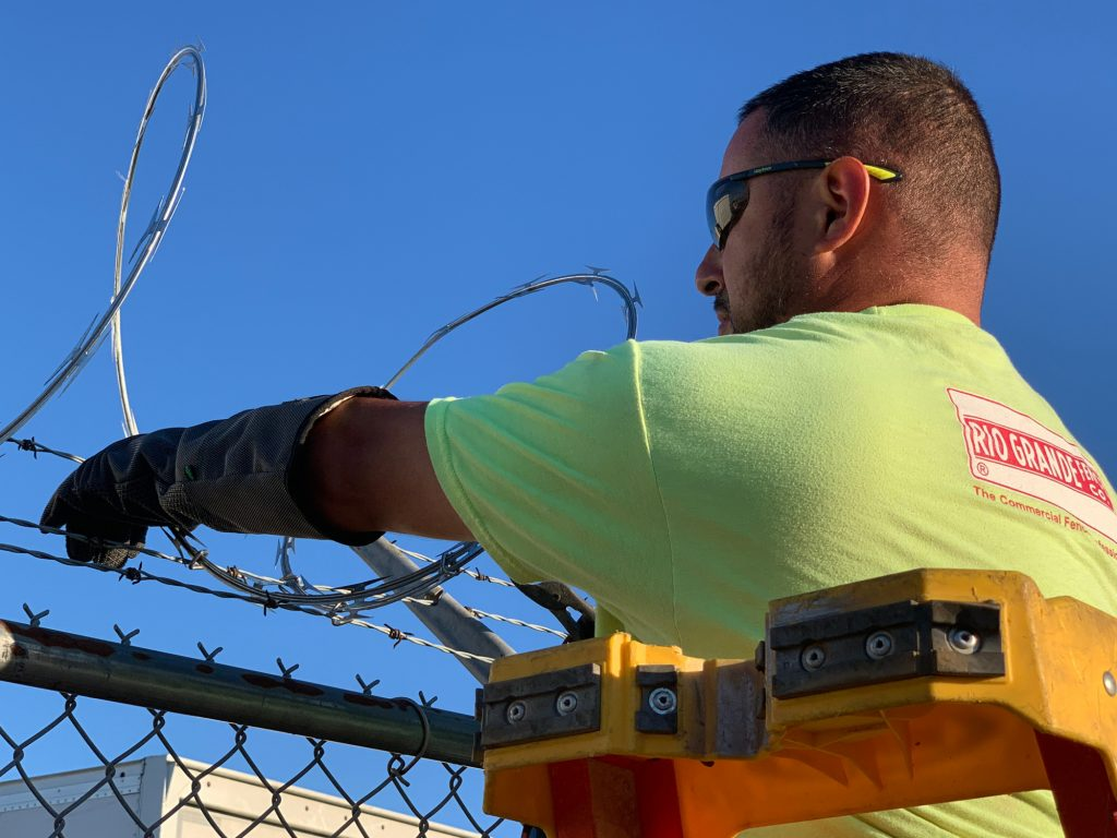 Best-in-Class HexArmor PPE for Razor Wire Fence Installations