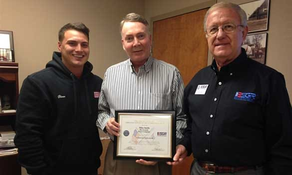 Rio Grande Fence Company Owner Receives Patriot Award