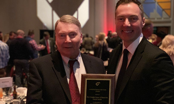 5th National Fence Contractor of the Year in 7 Years Awarded to Rio Grande Fence Co. of Nashville