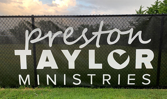 Preston Taylor Ministries Receives 2020 Service Project from Rio Grande Fence Co. of Nashville