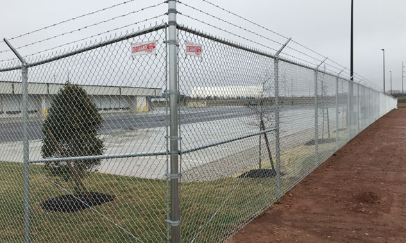 Commercial Fence Projects Chattanooga Tn Rio Grande