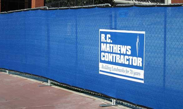 Rio Grande Fence Co Of Nashville Commercial Rental Fence Contractor